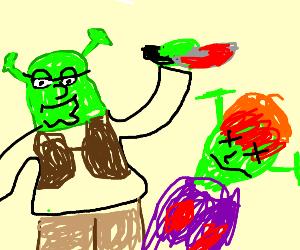 Shrek kills Fiona