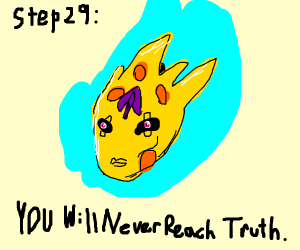 Step 28: search for the truth