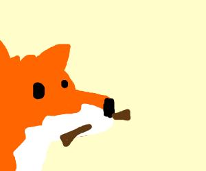 Fox offers you a stick