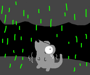fear mouse sippin toxic rain