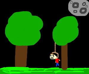 dead guy in forest