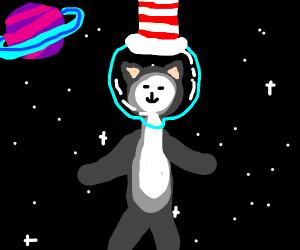 Cat in the Hat goes on a Space Adventure