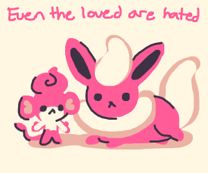 Sad Kawaii Fire Pokemon