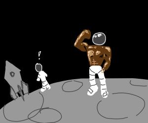 Shirtless Astronaut
