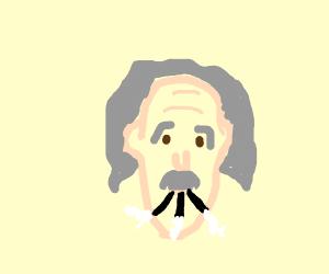 Einstein took a hit of those rad juuls