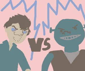 Shaggy vs Shrek