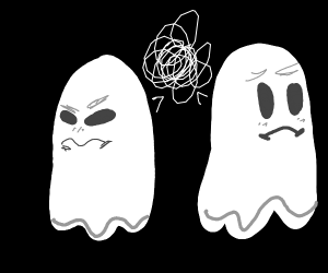 ghosts ignore eachother