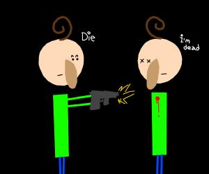 baldi attacks another baldi