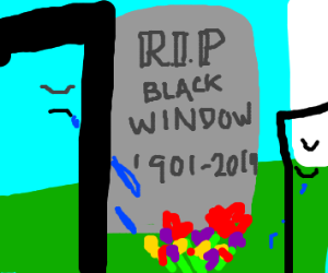 Rip black widow
