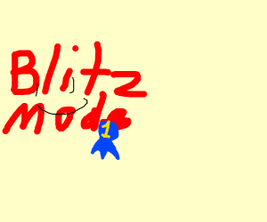 Blitz gets first place