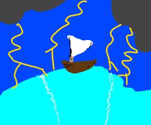 Sailing through storm