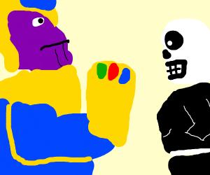 Thanos vs Sans