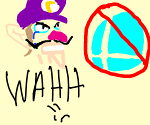 Waluigi sad cuz not getting into smash bros