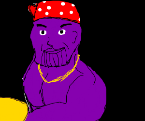 Ricardo has merged his DNA with Thanos.