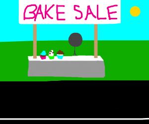 Cupcakes At.A Bake Sale