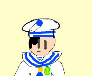 Anime sailor boy