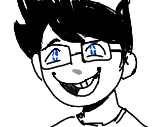 John Egbert is happy!