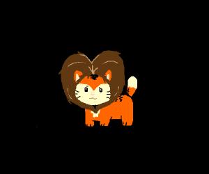 I'm a lion little kitty