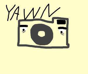 Tired Camera