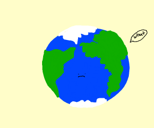 Confused earth