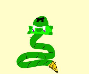 snake venom vs dollar bill