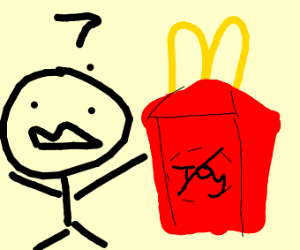 Where the hell is my McDonalds toy?
