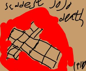 saddest jojo death(pio)