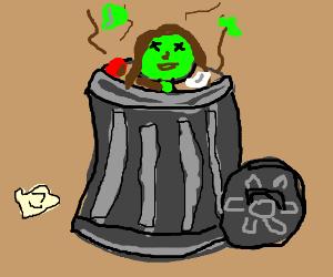 Dead guy in dumpster