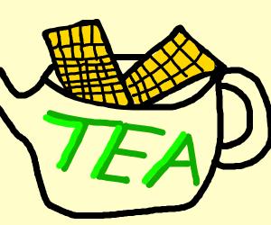 Pancakes in a Teapot