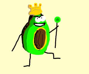 The avocado, the king of green foods