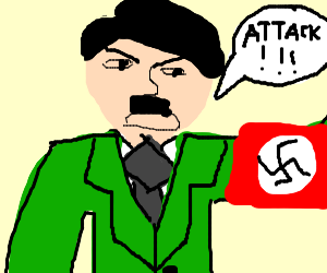 Hitler gives the ATTACK command!