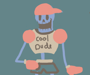 a cool dude (maybe drawer)