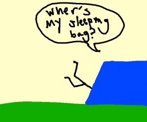 finding your sleeping bag