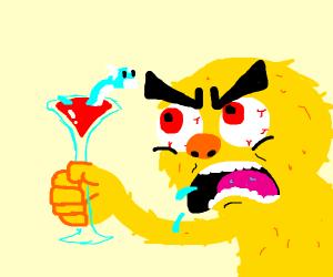 Yellmo doesn't like dratini martini