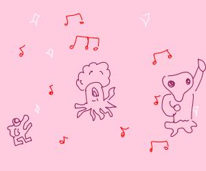 Alien dancing to disco