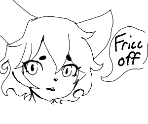 furry wants you to fricc off