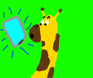 giraffe discovers technology