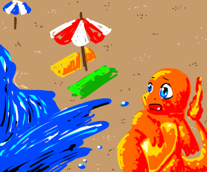 Charmander has to avoid water