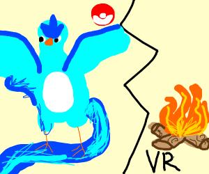 Articuno vs Fire