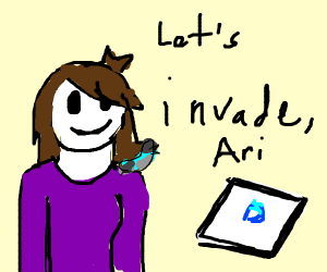 Jaiden is going to invade Drawception