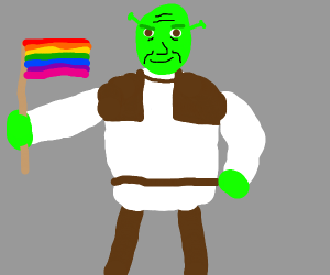 Shrek supports Lgbt rights