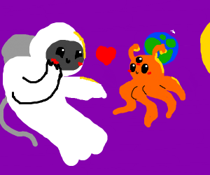 Ghost astronaut in love