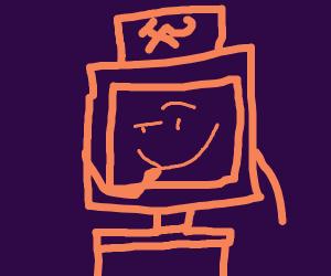 Smug communist television