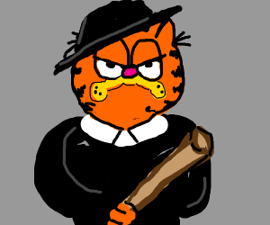 Garfield Joins The Mafia