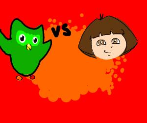 Duolingo VS Dora