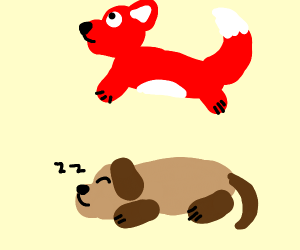 The quick red fox jumped over the lazy dog