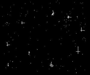 Stars, so many stars!