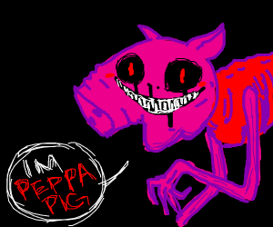 Peppa Pig nightmare version