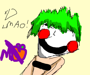 Joker but autistic