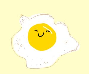 Happy egg yolk